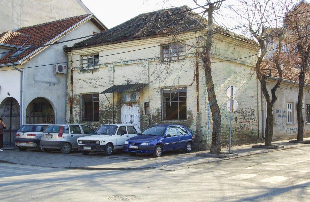 stari magacin u ul. Vuka Karadžića